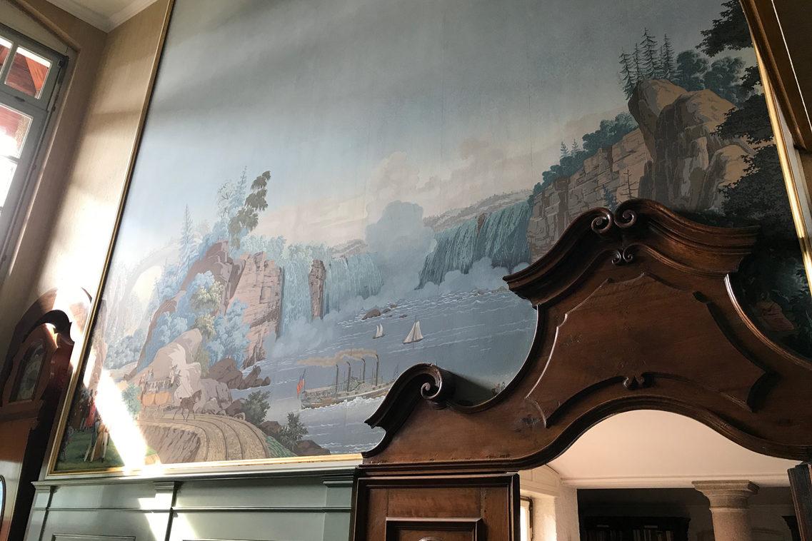 I papier-peint della Casa Bianca