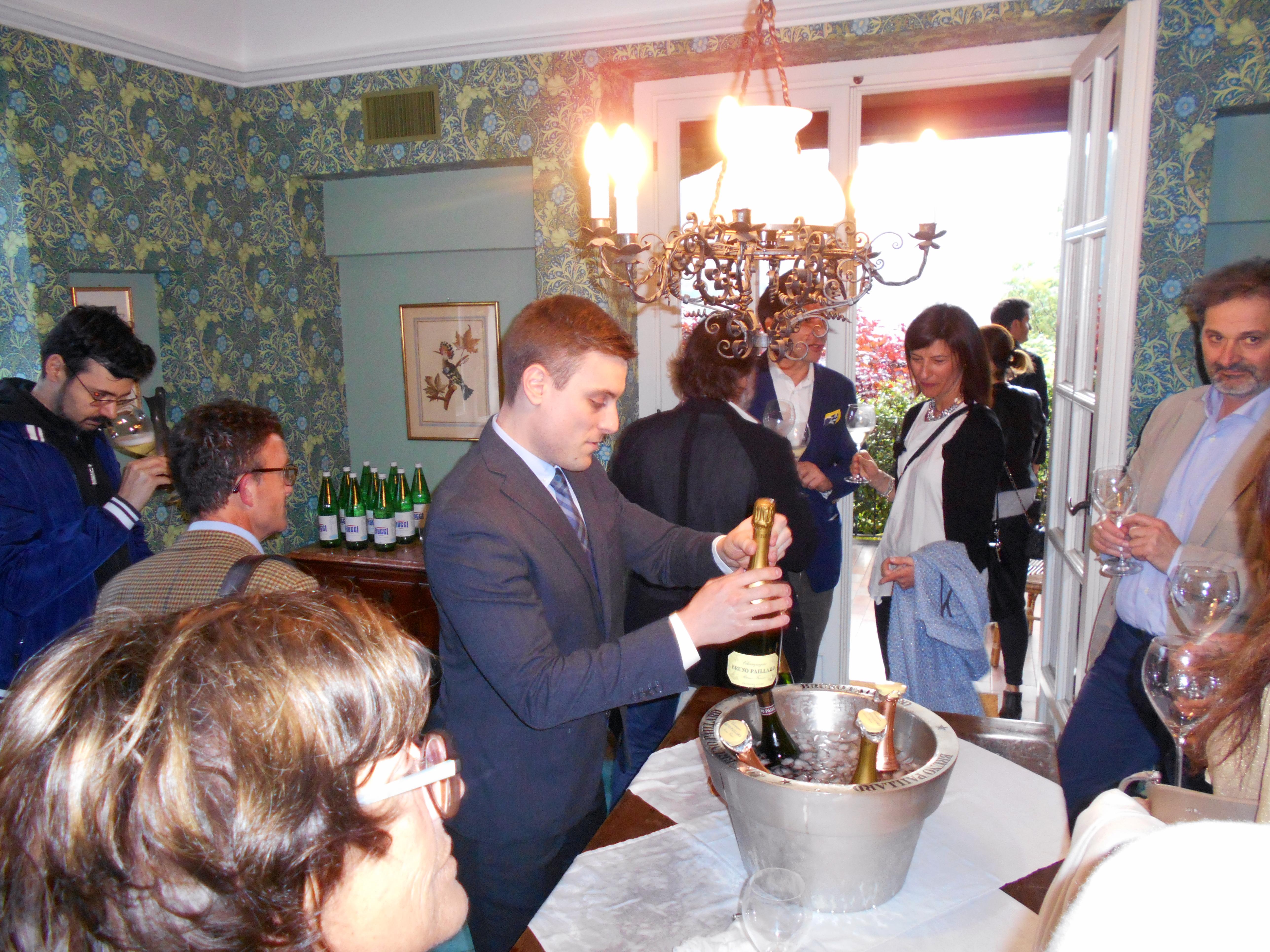 degustazione champagne paillard a ronco dell'abate
