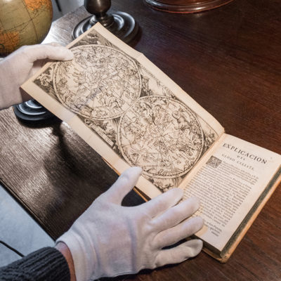 Rare book taken from Ronco dell'Abate library